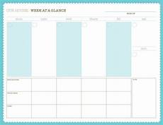 Family Schedule Organizer Weekly Calendar Free Pdf Printable With Images