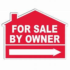 List House For Sale By Owner Free Quot For Sale By Owner Quot House Shaped Yard Sign Custom