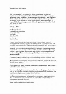 Executive Position Cover Letters Cover Letter Executive Cover Letter Examples Branch To It