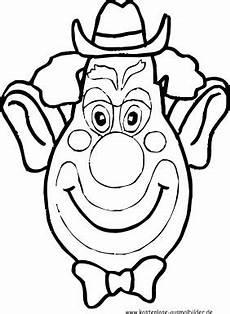 malvorlagen ausmalbilder clown gesicht ausmalbilder
