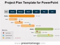Powerpoint Project Plan Template Project Plan Template For Powerpoint Presentationgo Com