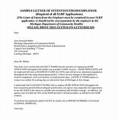 Letter Of Intent For Loan Application 31 Letter Of Intent For A Job Templates Pdf Doc Free