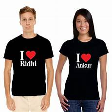 Couple T Shirt Love Design Personalized I Love Couple T Shirts Author Love