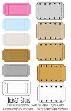 Blank Ticket Stub Template Blank Ticket Stubs Tons Of Free Templates And