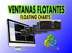 Mt4 Floating Charts Software Ventanas Flotantes Para Meta Trader Mt4 Floating Charts