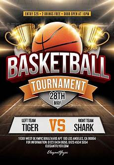 Basketball Tournament Program Template Basketball Tournament Psd Flyer Template Facebook