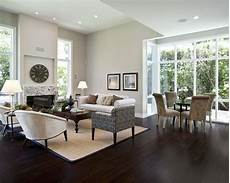 grey living rooms with dark floors and espresso furniture