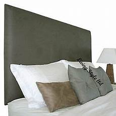 top quality flat faux leather headboard 20 quot height