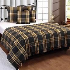cotton large tartan throws for sofas bed throw