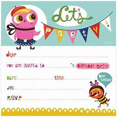 Printable Party Designs Free Printable Birthday Party Invitations Free