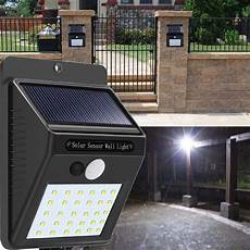 30 Led Solar Lights Solar Power 30 Led Pir Motion Sensor Wall Light Waterproof