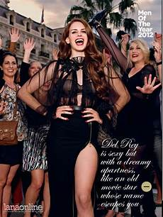 Del Rey Uk Charts Del Rey For British Gq S 15th Annual Men Of The Year