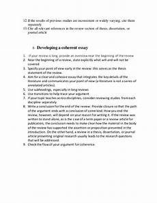 Apa Style Literature Review Literature Review Apa Style Title Page