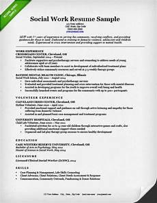 Work Resume Samples Social Work Resume Sample Amp Writing Guide Resume Genius