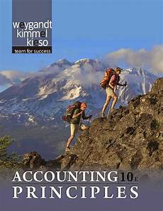 Accounting Principles 10th Edition By Weygandt Kimmel