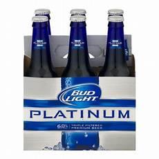 6 Oz Bud Light Bud Light Platinum 6 Ct12 0 Fl Oz Walmart Com