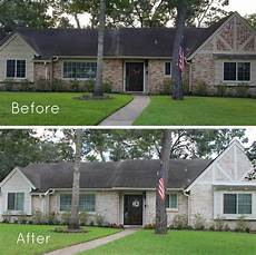 german smear on brick exterior before and after exterior