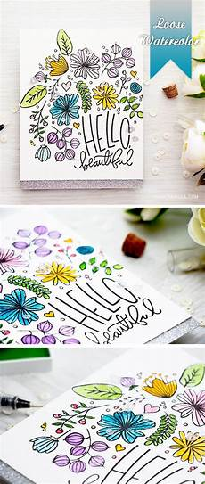 Water Color Cards Simon Says Stamp Card Drawing Cards Card Making