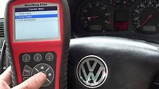 Golf Airbag Light Reset Vw Golf Airbag Light Reset 01218 Code Autel Md702 Md802