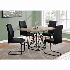 shop taupe black reclaimed wood dining table free
