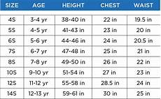 French Toast Girls Size Chart Boys Size Chart Customer Service French Toast French