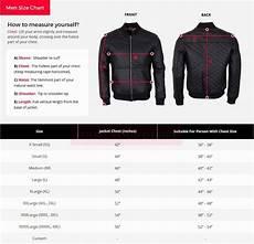 Mens Jacket Size Chart Size Guide Leather Jacket Men Amp Women Skintoll