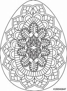 quot easter egg mandala quot stock image and royalty free vector