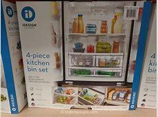 iDesign 4 Piece Kitchen Bin Set