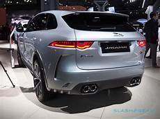 2019 jaguar f pace changes 2019 jaguar f pace svr gallery slashgear