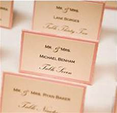 Pink Place Cards I Do Inspiration Table Top Tuesday Green Peach Amp Pink