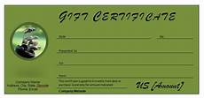 Golf Certificates Templates Free Golf Gift Certificates Template