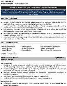 Sample Resume For Civil Site Engineer Civil Engineering Resume For Freshers Download Cv Format