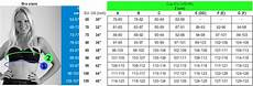 85 Cm Size Chart Nylondreams Long Line Bra Bras Calzessa