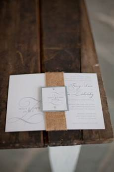 Burlap Wedding Invitations Burlap Wedding Invitations