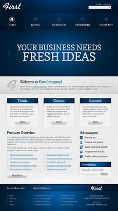 Sample Templates For Website Free Website Template Efficient Start Of Your Business