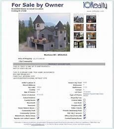 List House For Sale By Owner Free Susan Real Estate Flyers Templates