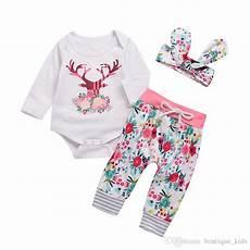 deer baby clothes birdie 2019 newborn baby clothes deer floral romper tops