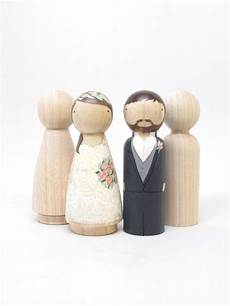 4 peg doll wedding cake toppers size 3 5 quot fair trade
