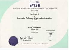 Information Technology Certifications Paul S Website Certificates