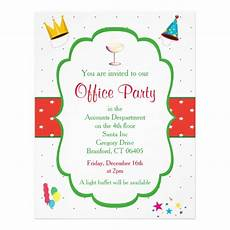Office Christmas Party Invites Christmas Office Party Invitation Flyer Zazzle Com