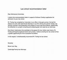 How To Write Law School Letter Of Recommendation Best Law School Recommendation Letter Samples Amp Examples