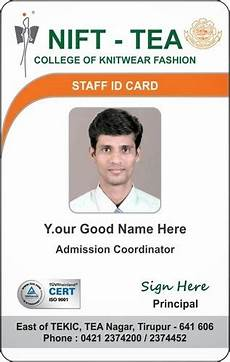 student i card template plastic and paperboard i card designing rs 50 unit