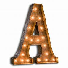 Buy Marquee Lights Vintage Marquee Lights Letter Wall Decor Wayfair