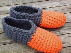free pattern crochet slippers