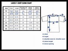 Shirt Size Chart Shirts Trinity Stores