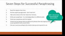 What Is Plagiarism Essay The Art Of Paraphrasing Avoiding Plagiarism Youtube