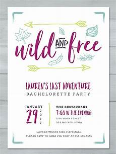 Party Invite Maker Free 14 Printable Bachelorette Party Invitation Templates