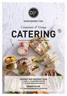 Catering Flyer Df Corporate Amp Group Catering Brochure 2018 By Donnybrook