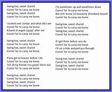 swing low lyrics swing low sweet chariot southern gospel on piano grace