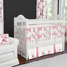 cherry blossom 2 crib bedding set carousel designs